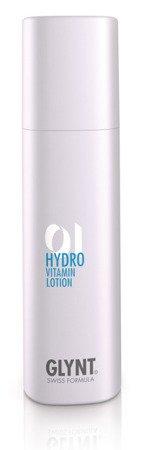 HYDRO Vitamin Lotion - nawilżająca odżywka bez spłukiwania do codziennego użytku specjalnie do włosów niepoddawanych chemicznym zabiegom.